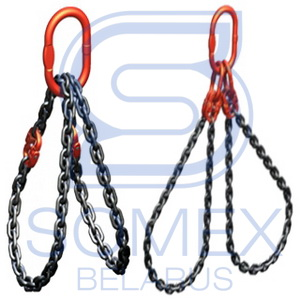 Стропы цепные с двумя кольцами типа СЦ2ВЗ