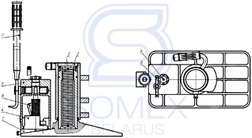 Схема домкрата ДПГ-10